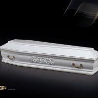 Гроб «Франция» белый
