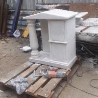 Изготовление склепа для колумбария Киевского Крематория на производстве в Киеве. Цена склепа для праха - доступна.