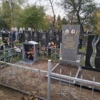 Фото склепа на кладбище. Цена места в колумбарии Крематория г. Киева - от 6 тыс. грн.