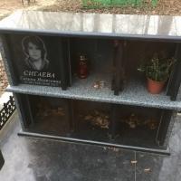 Место в колумбарии Киевского Крематория - от 6 тыс. грн. Фото склепа из гранита для всей семьи, на Байковом кладбище.